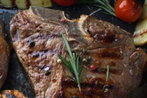 T Bone Steak grillen